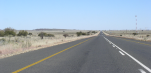 The N12 in the Karoo